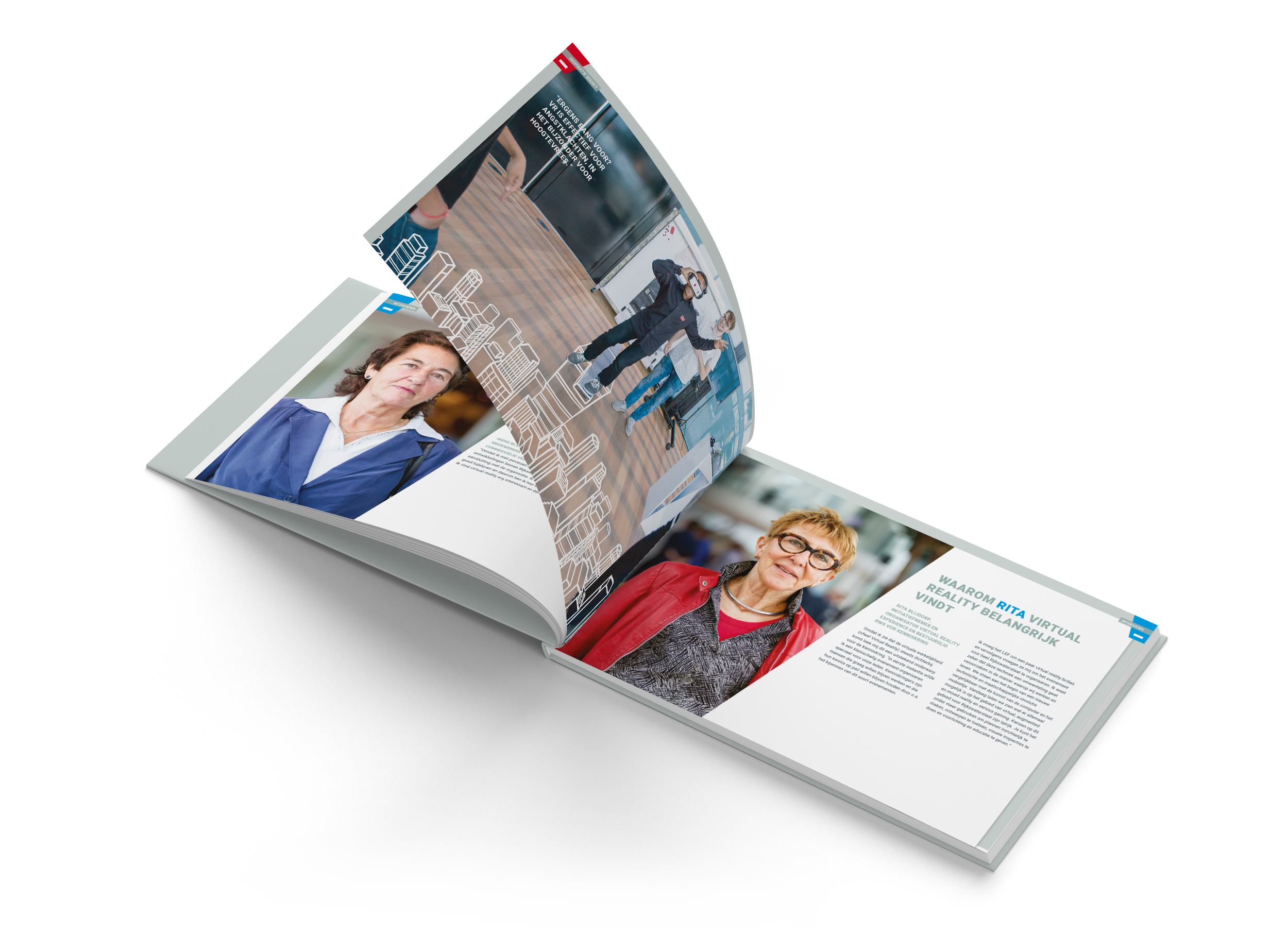 Magazine Rijkswaterstaat Virtual Reality